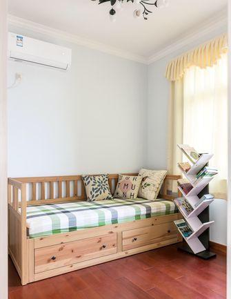 经济型80平米三室三厅美式风格卧室图片