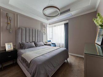130平米三室一厅混搭风格卧室设计图