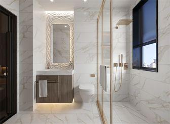 富裕型100平米三室两厅美式风格卫生间欣赏图