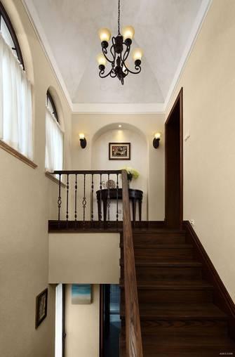 20万以上140平米四室两厅美式风格楼梯间图