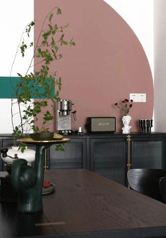 80平米混搭风格餐厅设计图