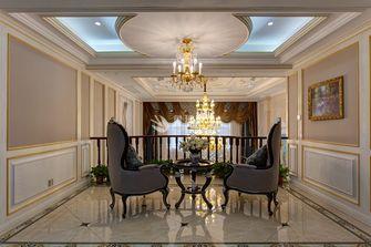 富裕型140平米复式欧式风格楼梯间装修案例