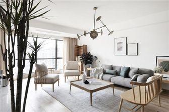富裕型120平米复式日式风格客厅设计图