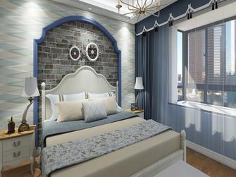 15-20万80平米三室两厅地中海风格卧室装修案例