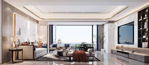 富裕型140平米复式中式风格客厅效果图