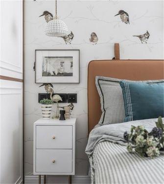 富裕型120平米三室一厅美式风格卧室欣赏图