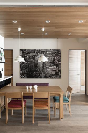 10-15万130平米四英伦风格餐厅装修案例
