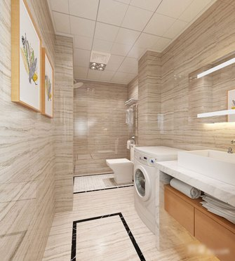 5-10万70平米公寓混搭风格卫生间设计图