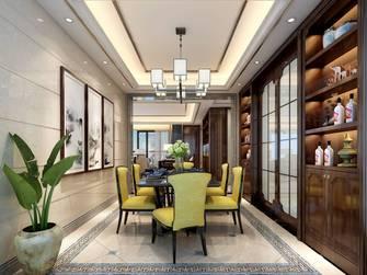 富裕型140平米三室两厅中式风格餐厅欣赏图