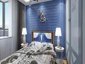 15-20万80平米三室两厅地中海风格青少年房装修效果图