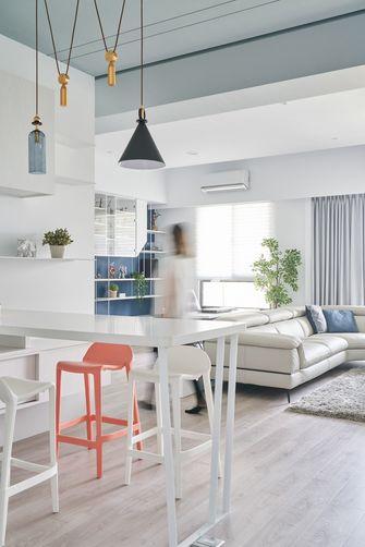 富裕型110平米三室一厅地中海风格餐厅图片