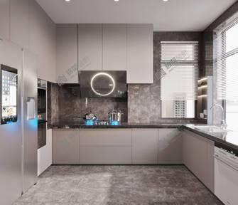 140平米三轻奢风格厨房欣赏图