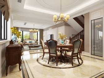 10-15万140平米别墅新古典风格餐厅图片