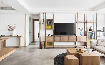 豪华型140平米三室两厅混搭风格客厅装修案例
