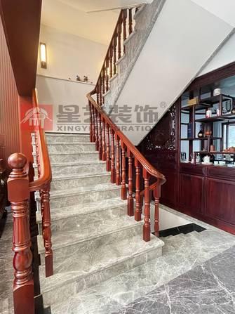 140平米四现代简约风格楼梯间装修案例