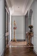 10-15万130平米三室两厅法式风格玄关图