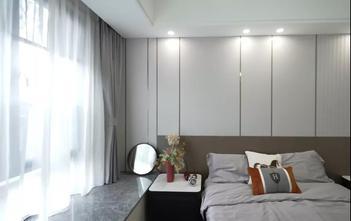 富裕型120平米三室三厅现代简约风格卧室图片大全