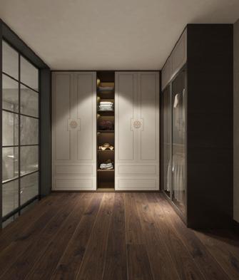20万以上140平米别墅欧式风格衣帽间设计图