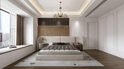 富裕型140平米四室两厅法式风格卧室图