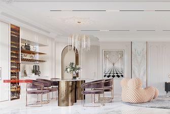 豪华型140平米别墅法式风格餐厅图片