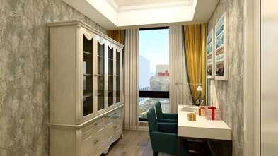110平米欧式风格书房图片