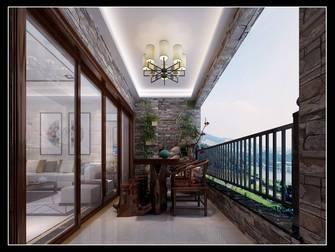 120平米三中式风格阳台图片