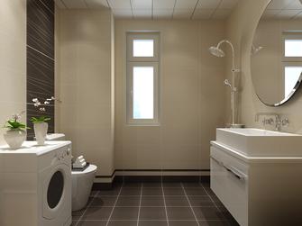 富裕型100平米三室两厅北欧风格卫生间图片大全