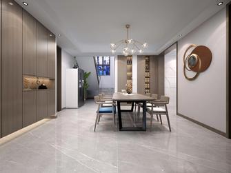 豪华型140平米一室两厅现代简约风格餐厅欣赏图