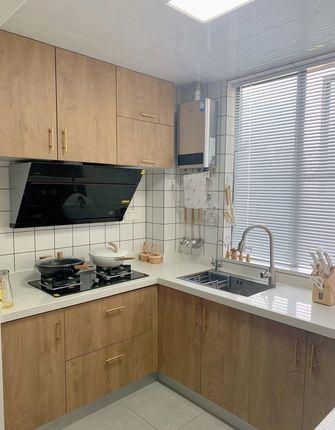 5-10万90平米三室两厅北欧风格厨房欣赏图