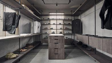 20万以上120平米三室两厅田园风格衣帽间设计图