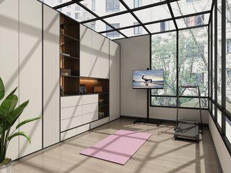 140平米复式现代简约风格健身房装修图片大全