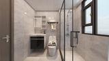 15-20万120平米三室两厅现代简约风格卫生间设计图