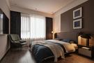豪华型130平米四室两厅港式风格卧室装修案例