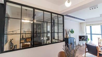 100平米三室一厅混搭风格书房图片大全