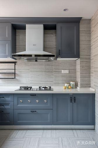 富裕型120平米三室一厅美式风格厨房图片大全