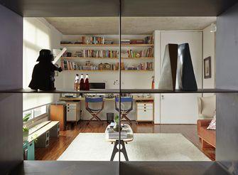 120平米三日式风格客厅效果图