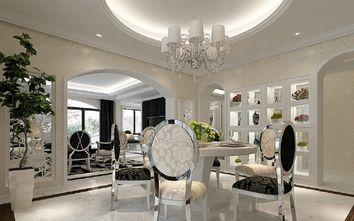 富裕型140平米三室两厅欧式风格餐厅设计图