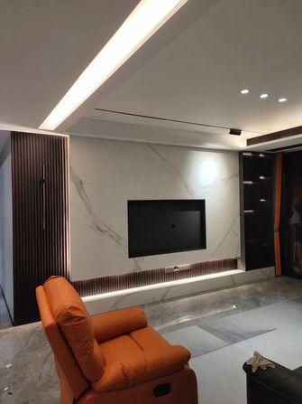 豪华型140平米三室两厅现代简约风格客厅装修效果图