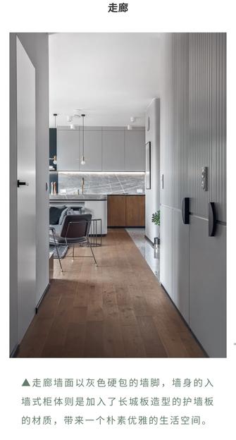 15-20万100平米三室两厅现代简约风格走廊装修案例