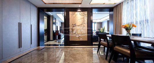 140平米四室三厅港式风格餐厅装修图片大全