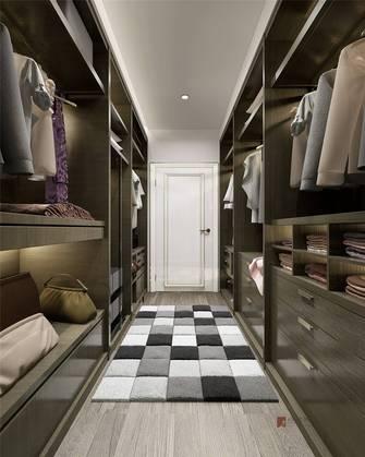 豪华型140平米别墅现代简约风格衣帽间设计图