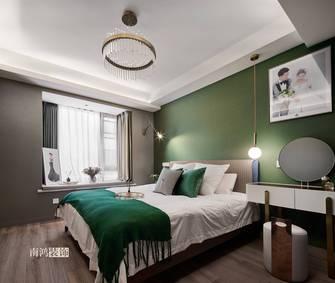 豪华型90平米三室两厅法式风格卧室装修案例