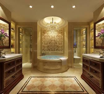 豪华型140平米别墅欧式风格卫生间图片大全