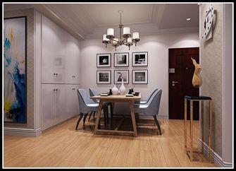 富裕型90平米北欧风格餐厅装修图片大全