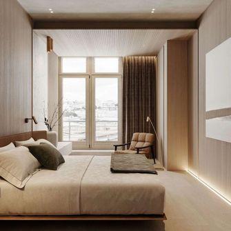 15-20万140平米三室一厅日式风格卧室欣赏图