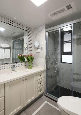 富裕型80平米美式风格卫生间设计图