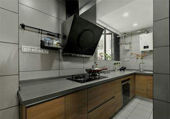 豪华型110平米三室一厅北欧风格厨房装修案例