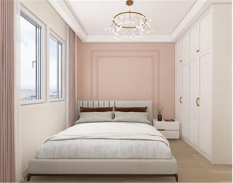 70平米法式风格卧室图片大全