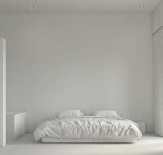 富裕型60平米公寓现代简约风格卧室图片