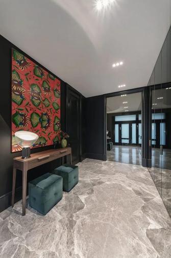 豪华型140平米别墅现代简约风格走廊图片
